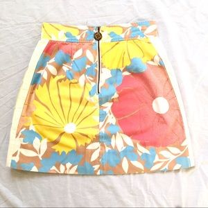 Tracy Feith Skirts - Tracy Feith Floral Cotton Straight Skirt Sz9 $10